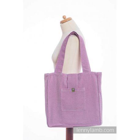 LennyLamb Shoulder Bag - Little Herringbone Purple
