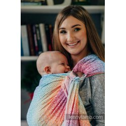 LennyLamb Ring sling Big Love - Rainbow