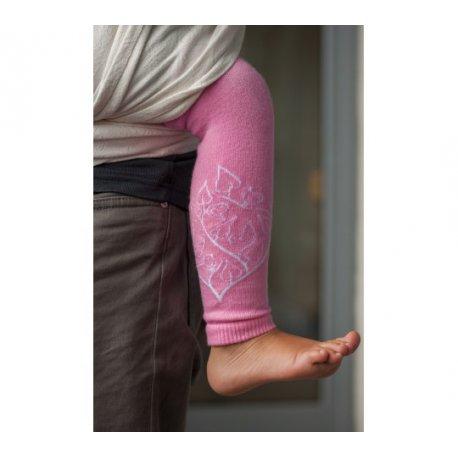 LoktuShe návleky na nožičky - růžové