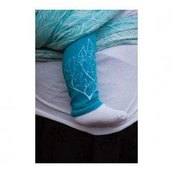 Loktu She návleky na nožičky - modré
