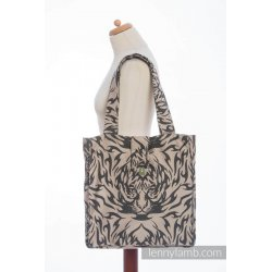 LennyLamb Shoulder Bag - Tiger Black & Beige 2.0