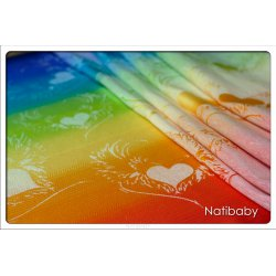 Natibaby Wings Of Love Rainbow White