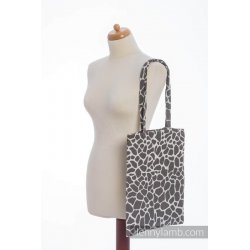 LennyLamb Bag Giraffe Dark Brown & Creme