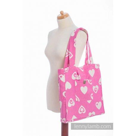 LennyLamb Shoulder Bag - Sweetheart Pink & Creme 2.0