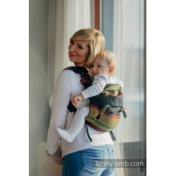 LennyLamb Onbuhimo back carrier - Moulin - Ardent
