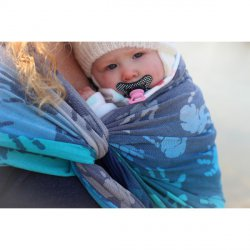 Yaro Ring sling Hands Aqua Grad Navy