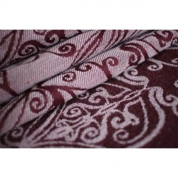 Yaro Ring sling Elvish Bordeaux Oleander Organic