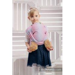 LennyLamb dětský šátek pro panenky Little Love - Haze