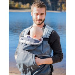 Neobulle babywearing cover Grey