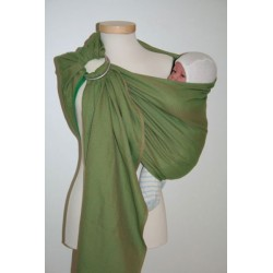Storchenwiege ring sling Leo Green