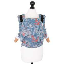 Fidella Fusion babycarrier with buckles - Sea Anchor - maritime blue