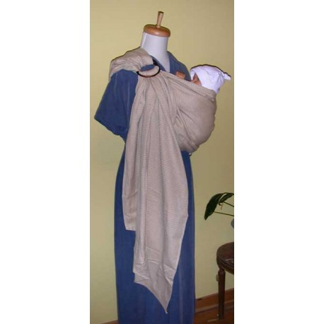 Storchenwiege ring sling Leo Natural
