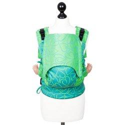 Fidella Fusion ergonomické nosítko s přezkami -Amors Love Arrows Green