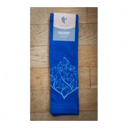 Baby leg warmers LoktuShe - royal blue