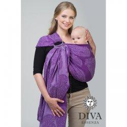Diva Milano ring sling Essenza Viola (Bambus)