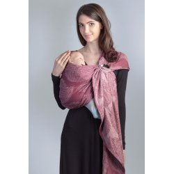 Diva Milano ring sling Essenza Berry (Bambus)