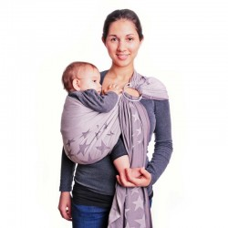 Hoppediz Ring Sling LA Grey