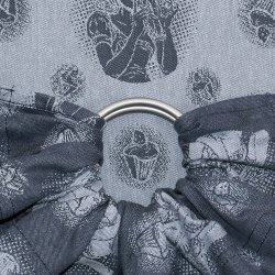 Fidella ring sling Cupcake Kiss - blueberry