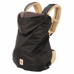 Ergobaby winter cover 2in1 black