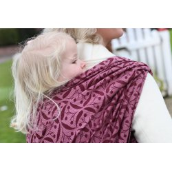 Yaro Ring Sling Retro Berry Bordeaux Old-Rose