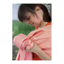 LoktuShe Ring sling Bird Garden Apricot Ice Cream