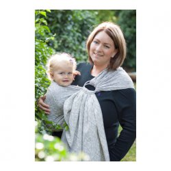 Loktu She Ring sling Bird Garden Grey