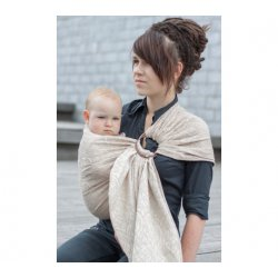 Loktu She Ring sling Bird Garden Latté