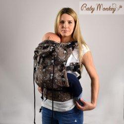 BabyMonkey ergonomické nosítko Regolo LittleMonkey Marrone