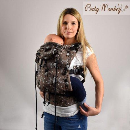BabyMonkey ergonomic carrier Regolo Marrone