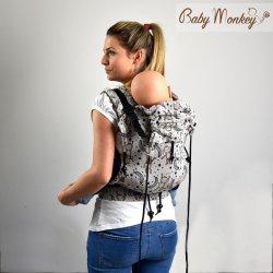 BabyMonkey ergonomic carrier Regolo LittleMonkey Marrone Reverse