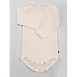 DuoMamas childern bodysuit - long sleeves - cream