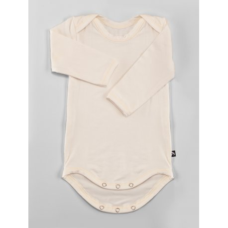 DuoMamas childern bodysuit - long sleeves - cream