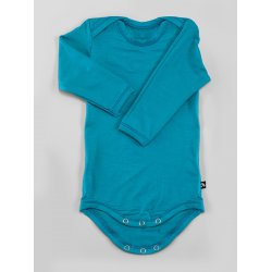DuoMamas childern bodysuit - long sleeves - emerald