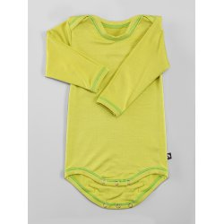 DuoMamas childern bodysuit - long sleeves - lime