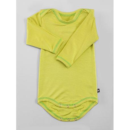 DuoMamas childern bodysuit - long sleeves - lime