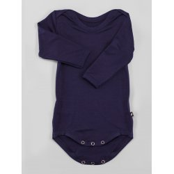 DuoMamas childern bodysuit - long sleeves - navy