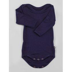 DuoMamas childern bodysuit - long sleeves - navy