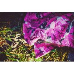 Pellicano WrapMania Ring Sling Pink Roses Linen - půjčovna