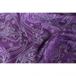 Yaro Elvish Purple Silver Tencel Wool