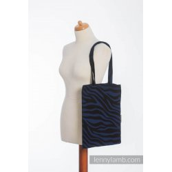 LennyLamb Bag Zebra Black & Navy Blue