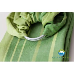 Little Frog ring sling Linen Beryl