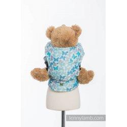 LennyLamb dětské nosítko pro panenky Butterfly Wings Blue