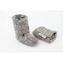 Angel Wings Sweater Shoes - melange
