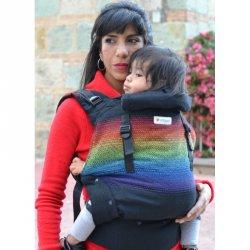 Indajani Evolution ergonomické nosítko - Binni Rainbow
