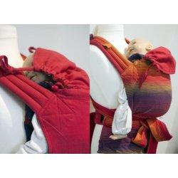Girasol ergonomical carrier MySol Arco Iris / red