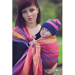 Little Frog ring sling Linen Rhodonite