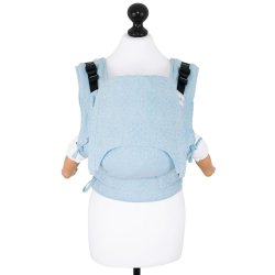 Fidella Fusion babycarrier with buckles - Star Tile - blue glass
