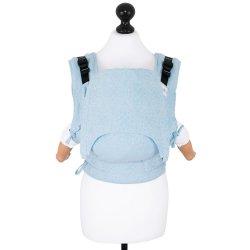 Fidella Fusion ergonomické nosítko s přezkami - Star Tile - blue glass