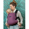 Isara ergonomic carrier V3 half wrap conversion - Burgundivine