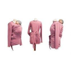 Angel Wings Zavinovací Svetr letní růžový (bavlna)